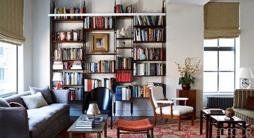 Decoração com estantes de livros - tudo sobre